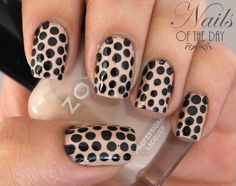Polka Dot Nail Art with Zoya Nail Polish in Avery!