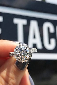 30 Halo Engagement Rings Or How To Get More Bling ❤️ See more: http://www.weddingforward.com/halo-engagement-rings/ #wedding