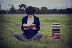 Ler é arte, sacrificar a tv faz parte.