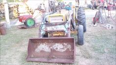 F.E.L. SWAP IH To FORD Part 3 Mounted
