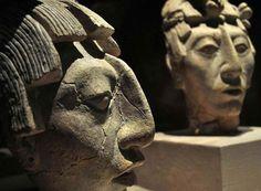 Máscaras Mayas.
