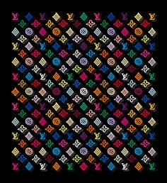 Chanel Logo Wall Art - Painting - Louis Vuitton by Nikita Watch Wallpaper, Apple Wallpaper Iphone, Print Wallpaper, Cute Wallpaper Backgrounds, Cute Wallpapers, Geometric Wall Paint, Monogram Wallpaper, Apple Watch Faces, Mini Canvas Art