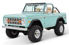 A golfing institution so elite that Ben Hogan graced it's rolling greens, and a Classic Ford Bronco restoration that pays the same reverence to the past. 4x4 Trucks, Ford Trucks, Chevrolet Trucks, Diesel Trucks, Chevrolet Impala, Lifted Trucks, Future Trucks, Future Car, My Dream Car