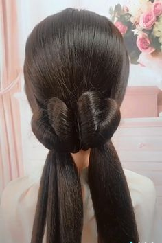 Beautiful Hairstyles styles for wedding down hairstyles indian videos Beautiful Hairstyles Easy Hairstyle Video, Ponytail Hairstyles Tutorial, Wedding Hairstyles Tutorial, Long Hair Video, Easy Hairstyles For Long Hair, Beautiful Hairstyles, Up Hairstyles, Braided Hairstyles, Indian Hairstyles
