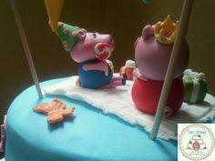 Tarta Peppa Pig 1 https://www.facebook.com/Dulcecatering.mesasdulces?ref=hl