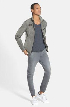 G-Star Raw 'Type C' Super Slim Skinny Fit Jeans (Slander Grey) | Nordstrom
