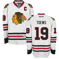 Get this Chicago Blackhawks Jonathan Toews White Premier Jersey w/ Authentic Lettering at ChicagoTeamStore.com