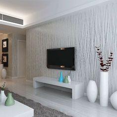 Vliestapeten, die Frische ins Wohnzimmer bringen