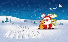 20 imágenes navideñas y gifs animados con mensajes de Navidad y 2014 | Banco de Imágenes