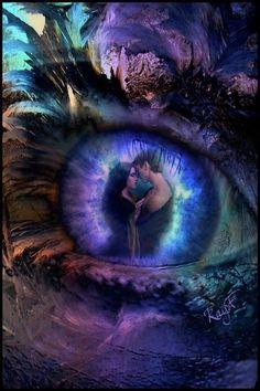 Saved by Celtic Dragon. Pretty Eyes, Cool Eyes, Beautiful Eyes, Beautiful Fantasy Art, Beautiful Fairies, Trippy Eye, Spiritual Eyes, Butterfly Eyes, Cute Fantasy Creatures