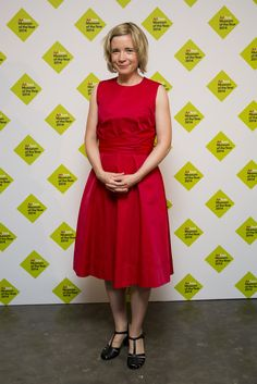 Lucy Worsley attends the announcement of the winner of the UK's largest arts prize, the £100,000 Art Fund Prize for Museum of the Year, presented by Sam Mendes at National Gallery on July 9, 2014 in London, England.