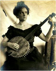 Women with Banjos... are powerful, musical, fierce, crazy.