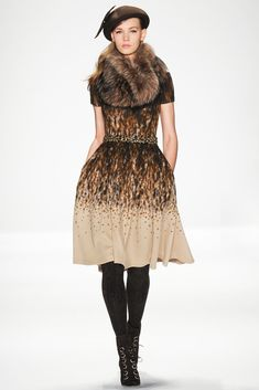 Badgley Mischka Fall 2014 Ready-to-Wear Fashion Show