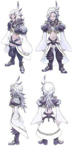 Final Fantasy Ix, Final Fantasy Characters, Fantasy Concept Art, Game Concept Art, Fantasy Art, Character Modeling, Game Character, Character Design, Victory Pose