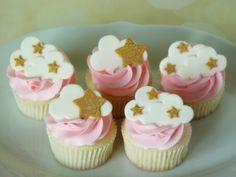 Star Cupcakes, Themed Cupcakes, Mini Cupcakes, Cupcake Cakes, Baby Shower Cupcakes, Shower Cakes, Baby Reveal Cakes, Drip Cakes, Sweet Cakes