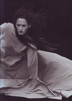 Theater of Fashion - Vogue Italia, October 1998 - Photo: Steven Meisel Steven Meisel, Peter Lindbergh, Portrait Photography, Fashion Photography, Glamour Photography, Lifestyle Photography, Editorial Photography, Portraits, Dark Beauty