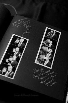 wedding photostrip guestbook