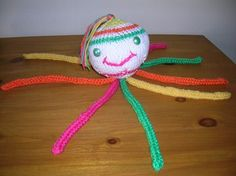 pieuvre tricotin