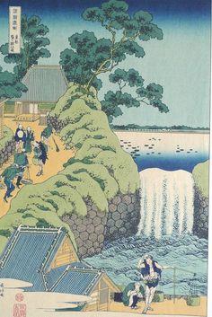 сюда можно включить деревья из другого художника работы    ну там где атмосфера пасмурнаяJapanese Ukiyo-e Woodblock print Katsushika Hokusai by UkiyoeSalon