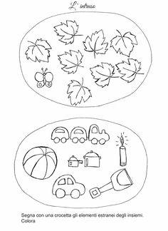 La maestra Linda: Raggruppare in Autunno... Music Lesson Plans, Kindergarten, Mini, Kids Rugs, Education, School, Blog, Pinocchio, Decor