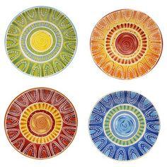 "Certified International Tapas Dinner Plate Set of 4 (11.25"") : Target"