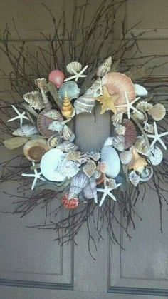 Seashell Wreath!