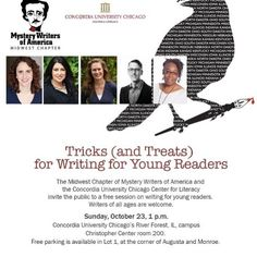 Today's the day! Come meet me and four other mystery writers as we talk about writing YA and middle grade books. This is a FREE event at Concordia University. @best.of.chicago  #Chicago #writers #writersofinstagram #igauthors #amwriting #authors #authorsofinstagram #authorsofig #yalovin #yalit #middlegrade #middlegradebooks #mysterywriters #mwa