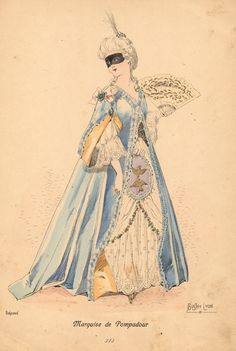 Marquise de Pompadour Bari, The Duchess Of Devonshire, Madame Pompadour, Rococo Fashion, Miniature Portraits, Female Pictures, Half Dolls, Museum Exhibition, Carnival Costumes