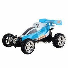 Mini Buggy Radio Controlled Car, Blue by Silverlit. $14.75. Ready to hit the Kart racing circuit to hone your skills as a driver? Here's your opportunity to race a remote controlled Kart racing car without even having to wear a fire-resistant helmet or driving suit! Requires 6 AA batteries to operate, ages 3 and up. Jewelers screwdriver required to remove car from package base.