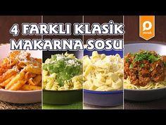 4 Farklı Makarna Sosu Tarifi - Onedio Yemek - Tek Malzeme Çok Tarif - YouTube