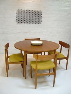 g plan table & chairs #g_plan #table #chairs