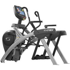 A commercial cross trainer with the unique arc design that gives the fast fitness results.
