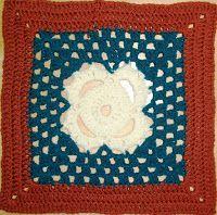 "MoCrochet - Melinda Miller Designs: Thankful Stitches - 12"" Square"