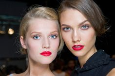 their lipstick