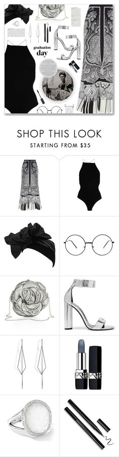"""""""Tranquilo (feat. Bad Bunny), Kevin Roldan"""" by blendasantos ❤ liked on Polyvore featuring Alexander McQueen, FRIDA, T By Alexander Wang, Yves Saint Laurent, Judith Leiber, McGinn, Tom Ford, Diane Kordas, Christian Dior and Ippolita"""