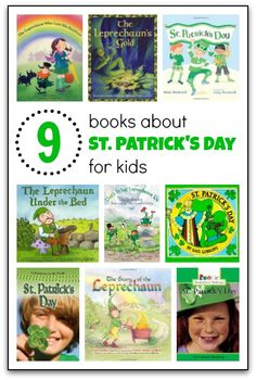 Books about St. Patrick's Day for kids - Gift of Curiosity