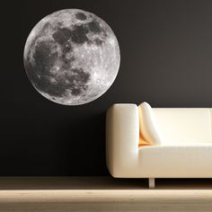 FULL MOON ASTRONOMY SPACE UNIVERSE WORLD WALL ART STICKER CHILD'S BEDROOM DECAL in Home, Furniture & DIY, Home Decor, Wall Decals & Stickers | eBay!