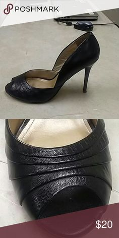 28f34cf8d345 Fioni heels Fioni white open toe heels size 8. Great condition. 4 ...