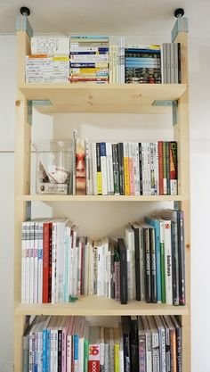 Bookshelves, Bookcase, Tidy Up, Home Organization, Diy Furniture, Shelving, Diy And Crafts, Projects To Try, New Homes