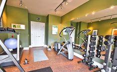 Very nice gym studio with good cardio equipment, great wall mirrors and nice paint job