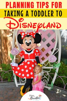 Planning to take a toddler to Disneyland, read these 14 top tips on how to have a happy day including avoiding meltdown, which attractions are toddler-friendly and where kids can run and play. Disney World Tickets, Disney World Vacation Planning, Disney Vacations, Walt Disney World, Trip Planning, Disneyland With A Toddler, Disneyland Tips, Disneyland California, Disneyland Resort