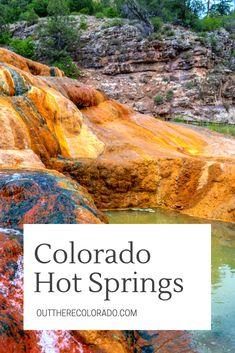 Colorado Hot Springs Winter Road Trip