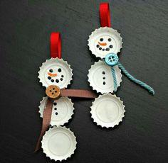 Ahora que se acerca navidad también puedes hacer estos accesorios para el arbolito y ayudas al ambiente, ¡reutiliza!