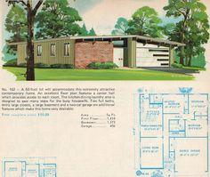 Mad for Mid-Century: Crestview-Like Mid-Century Garage Door