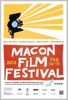 Macon Film Festival Official Poster - 2012