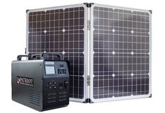 """Patriot Solar Generator 1500: """"Magic Bullet"""" Portable Power Solution to Protect You from Blackouts and Power up You Outdoors"""