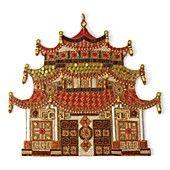 Kim Seybert Pagoda Placemat