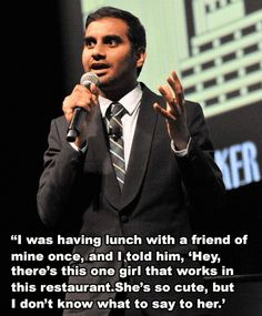 Proof That Aziz Ansari Is The Funniest Man On Netflix Right Now