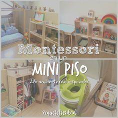 Montessori en una casa pequeña es perfectamente posible. De hecho no hacen falta muchos metros para tener un buen ambiente preparado...