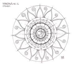 mandala sun tattoo